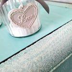 pastelowa szafka nocna art deco turkusowa