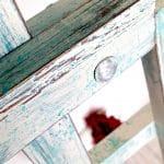 sztaluga malowana farbami kredowymi