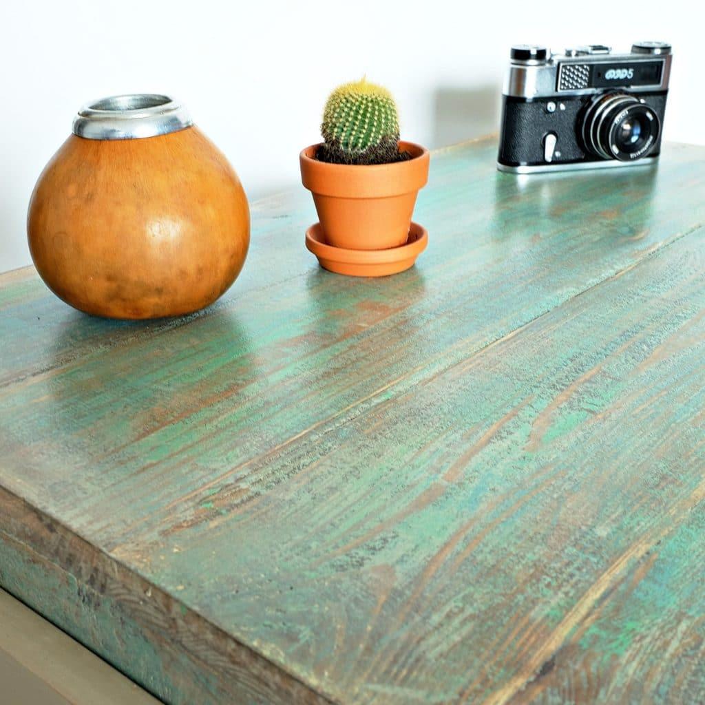 ręcznie robiony stolik kawowy